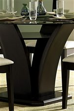 Sleek Trestle Pedestal Base