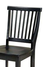 Slatted Chair Backs