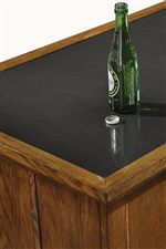 Granite Serving Top Featured on Bar