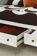 Underbed Storage Drawers on Daybed