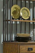 Grill Back and Shelves on Baker's Rack