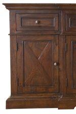 X Design on Door Panels