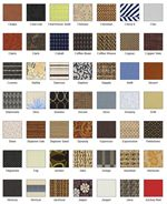 These Fabrics Options as well as Many More are Available