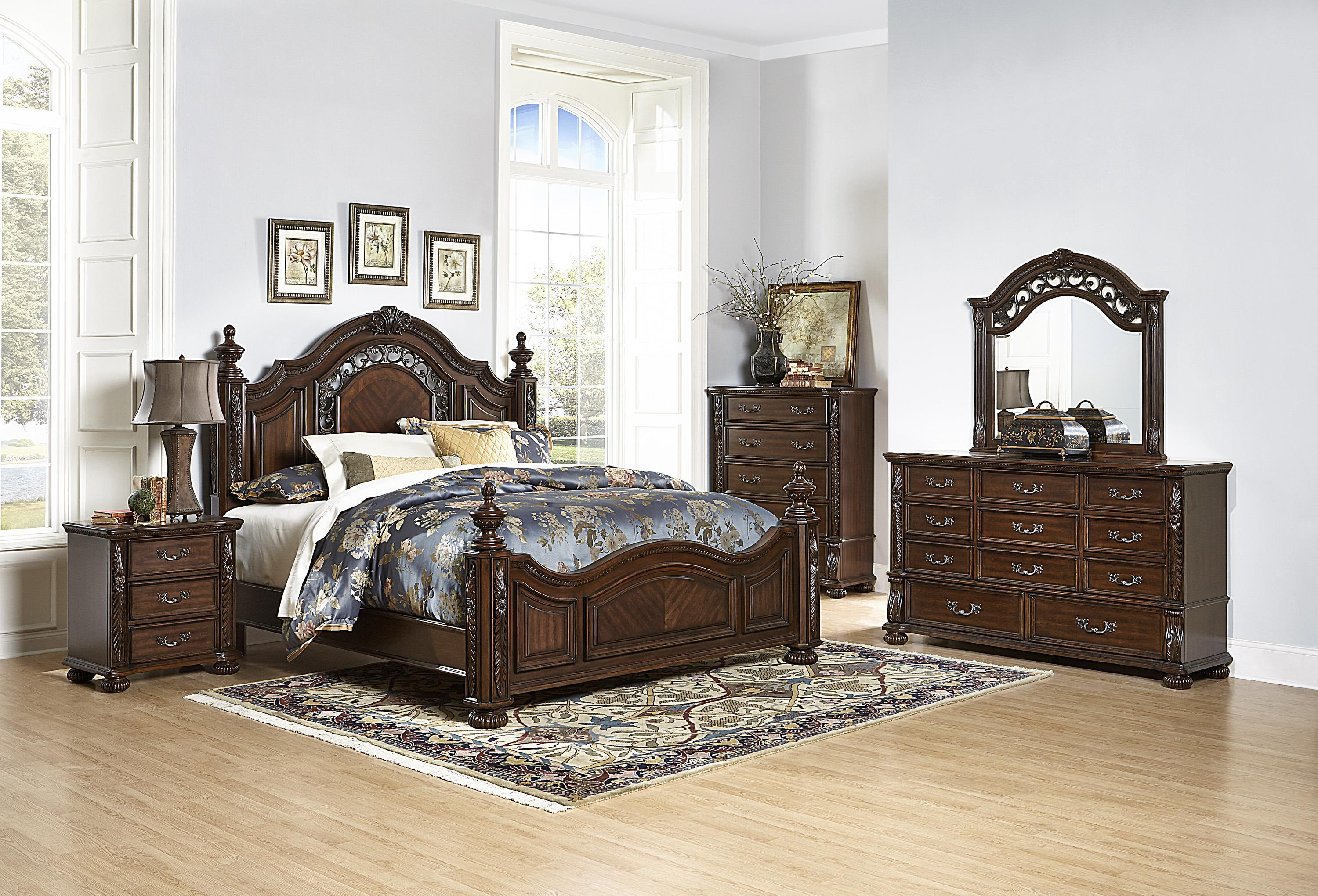 Emery Traditional Queen Bed with Extravagant Details   Walker s Furniture    Headboard   Footboard Spokane  Kennewick  Tri Cities  Wenatchee  Coeur  D Alene. Emery Traditional Queen Bed with Extravagant Details   Walker s