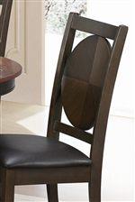 Circular Detail on Chair Backs