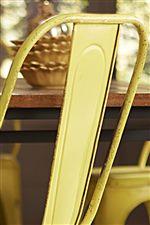 Trendy Metal Chair Backs