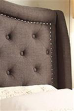 Button Tufting and Nailhead Trim