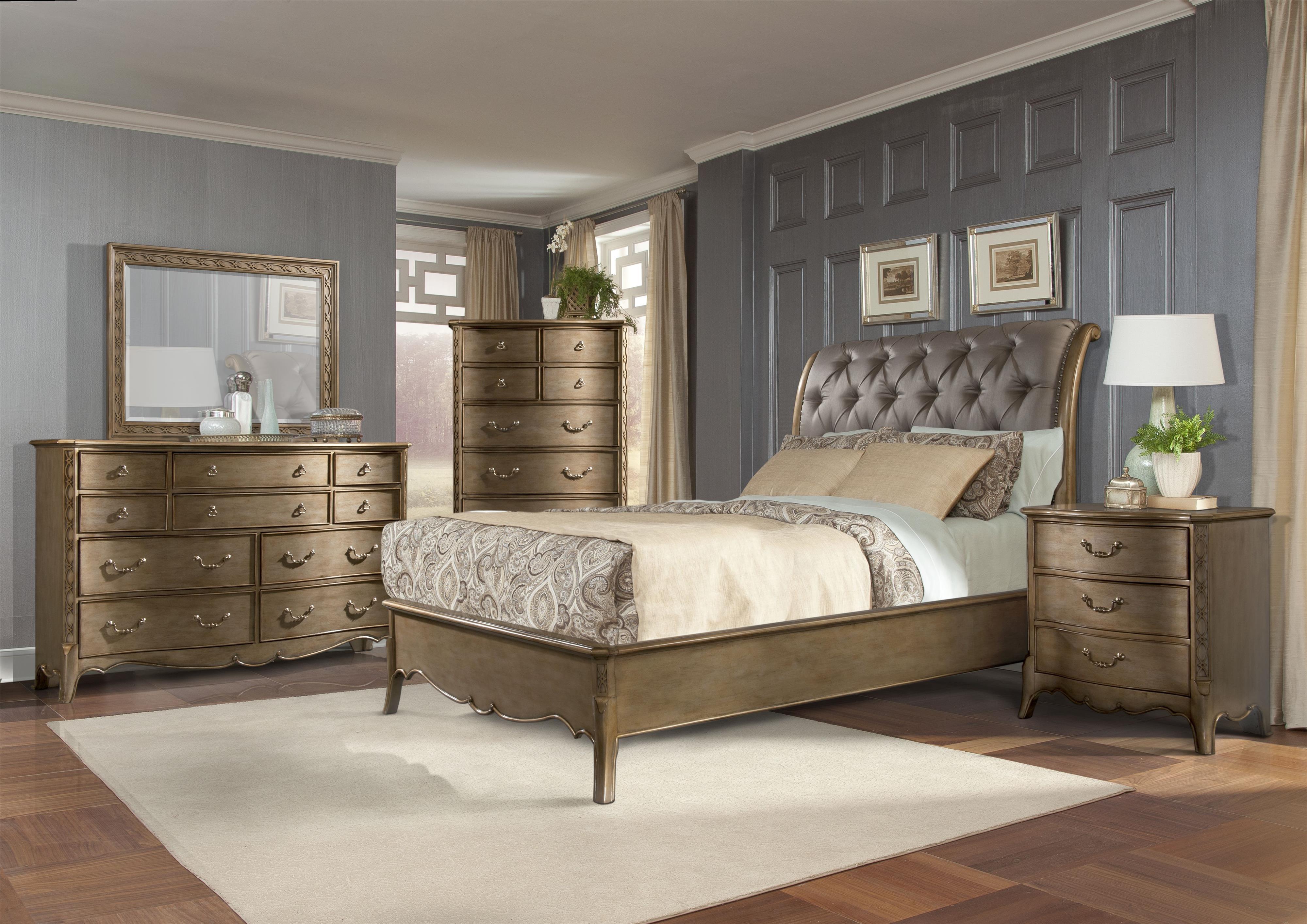 Homelegance Chambord Queen Bedroom Group - Item Number: 1828 Q Bedroom Group 1