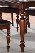 Elegant Turned Legs