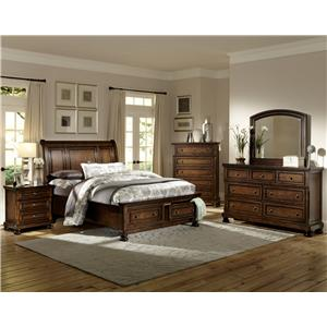Homelegance Cumberland  King Bedroom Group