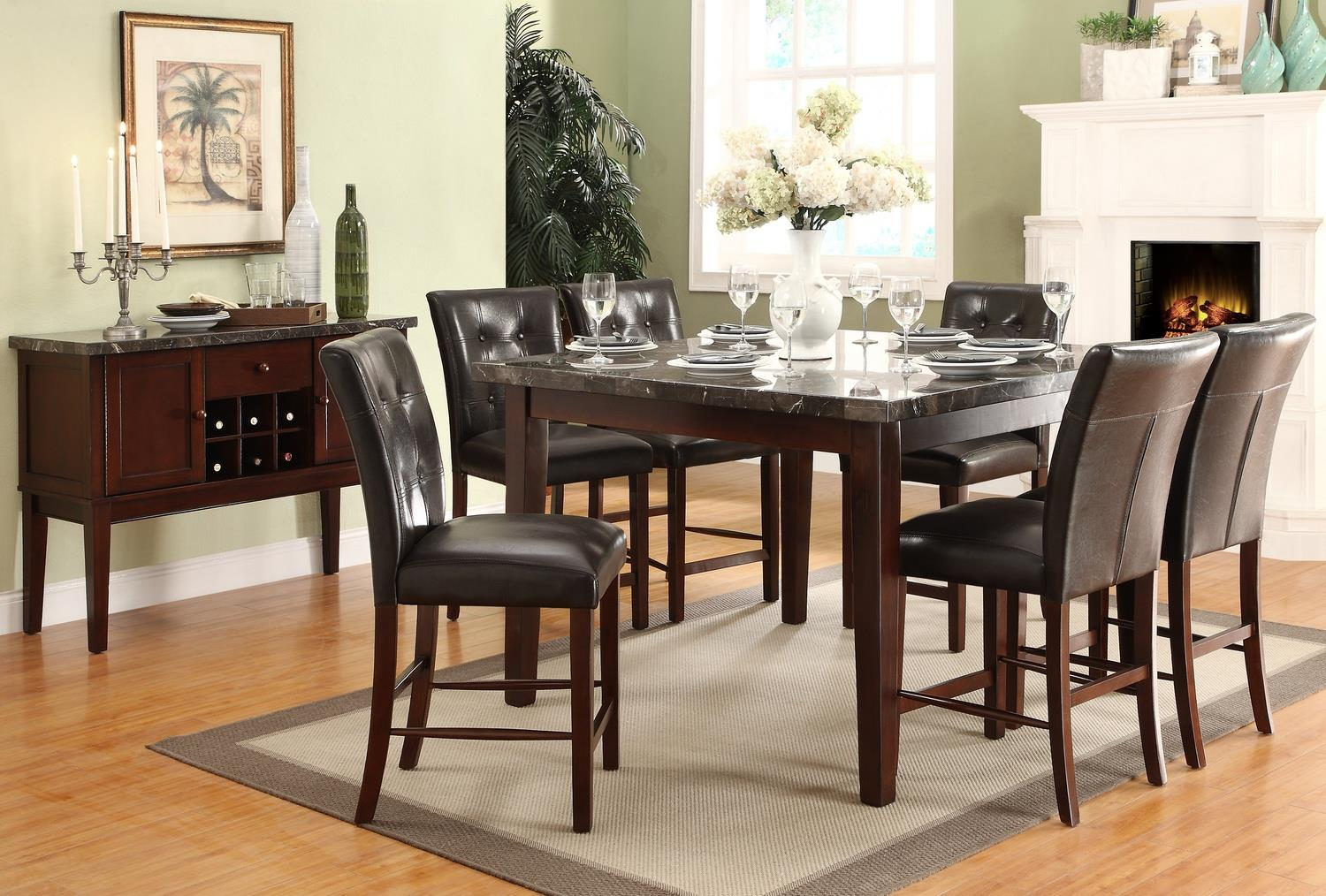 Homelegance Decatur Casual Dining Room Group - Item Number: 2456 Dining Room Group 1