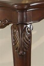 Acanthus Leaf Motif on Top of Legs