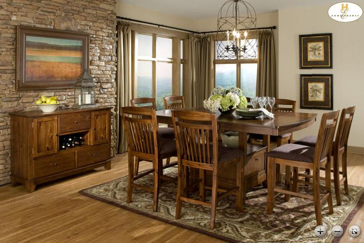 Homelegance Marcel Casual Dining Room Group - Item Number: 2489 Dining Room Group