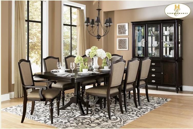 Homelegance Marston Formal Dining Room Group - Item Number: 2615 Dining Room Group