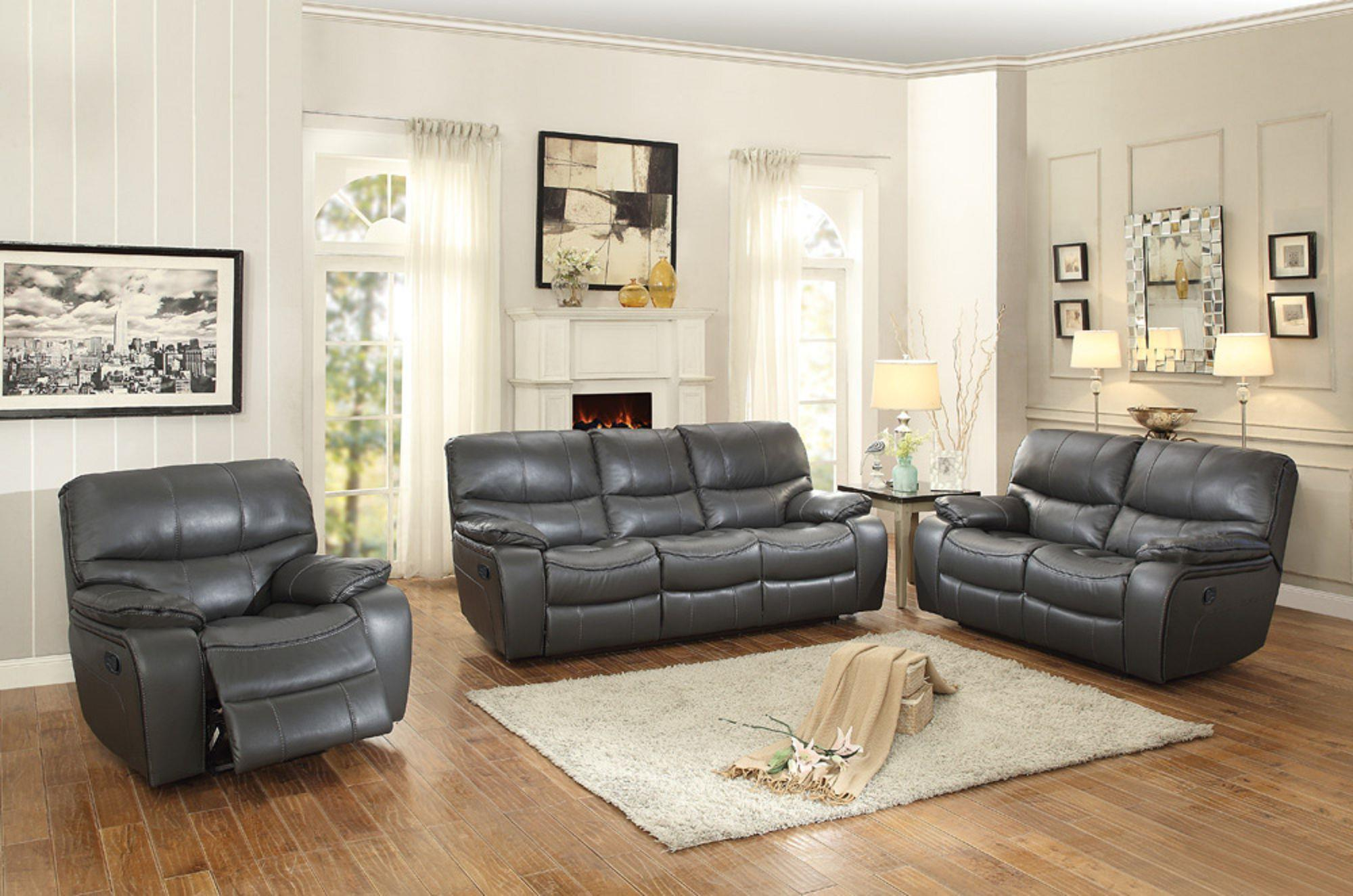 Homelegance Pecos Casual Reclining Loveseat Boulevard Home