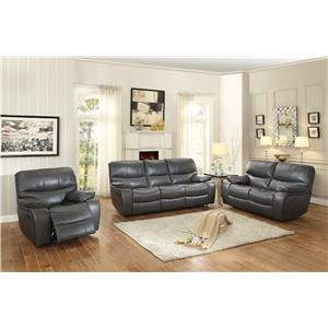 Homelegance Pecos Casual Reclining Sofa