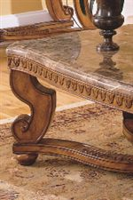 Beveled Marble Table Tops