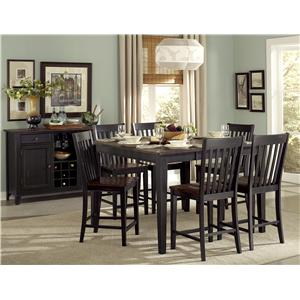 Vendor 2258 Three Falls Casual Dining Room Group