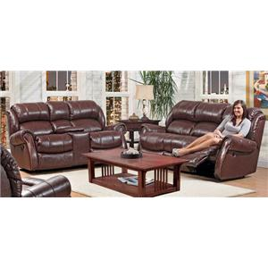 Vendor 392 120 - 22 Reclining Living Room Group