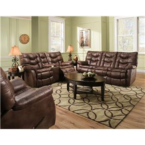 HomeStretch 130 Reclining Living Room Group