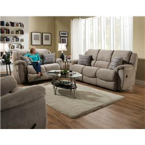 HomeStretch Newman Reclining Power Living Room Group