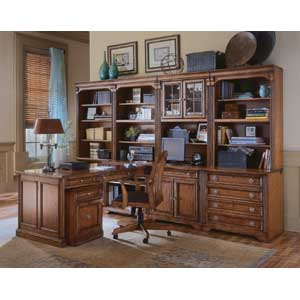 Hamilton Home Brookhaven Modular Office Collection