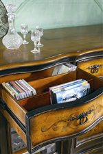 Drawer with CD/DVD partitions features in this collection.