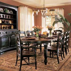 Hooker Furniture Indigo Creek 5 Piece Dining Set