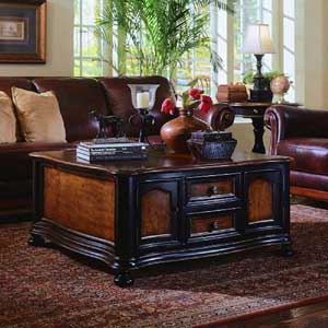 Hooker Furniture Preston Ridge Pedestal Dining Table and Chair Set