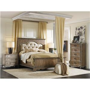 Hooker Furniture Chatelet Queen Bedroom Group