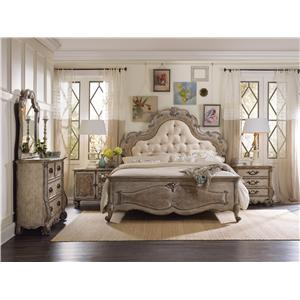 Hooker Furniture Chatelet 5-Drawer Chest with Scroll Legs