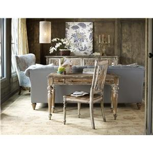 Hooker Furniture Chatelet 9 Piece Dining Set with Leg Table