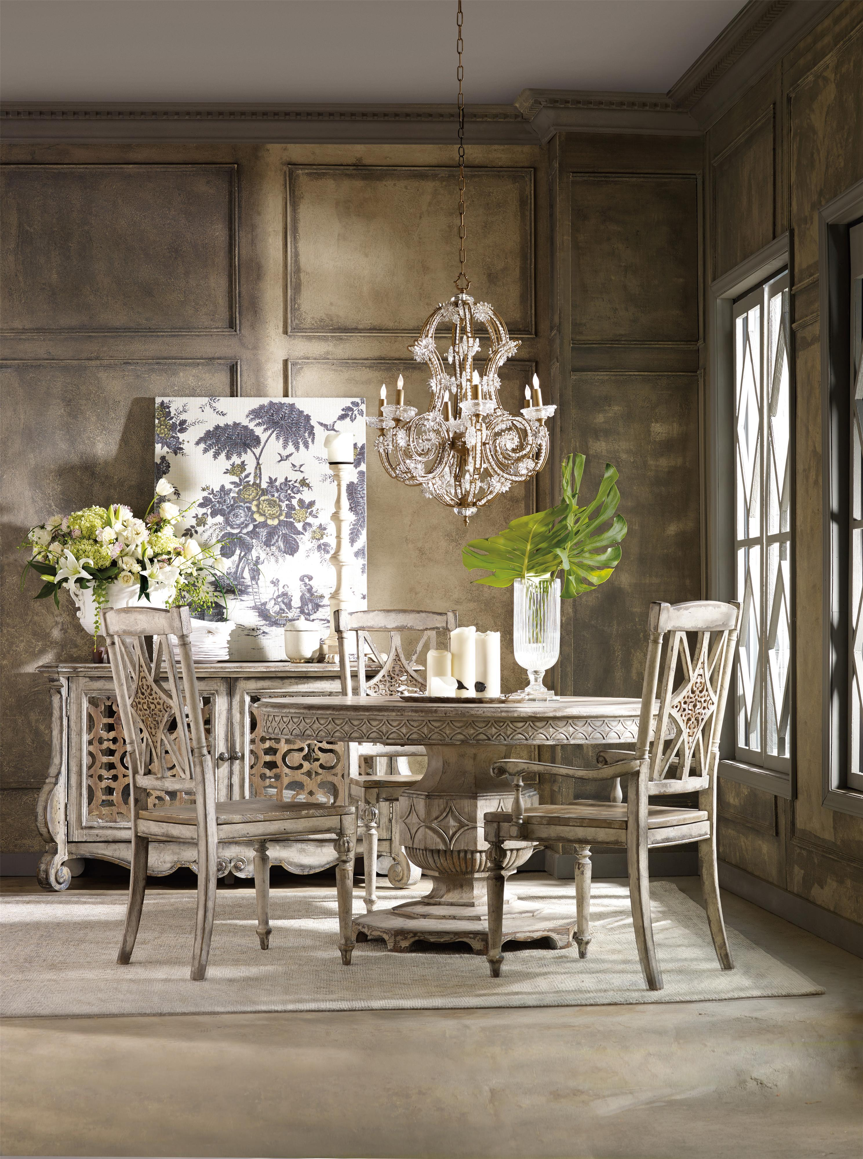 Hooker Furniture Chatelet Casual Dining Room Group | DuBois Furniture |  Casual Dining Room Groups Waco, Temple, Killeen, Texas