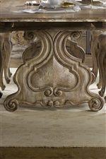 Harp-Shaped Pedestals Showcase Classic Design Elements