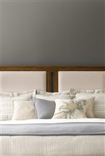 Upholstered Panels Featured On Select Beds
