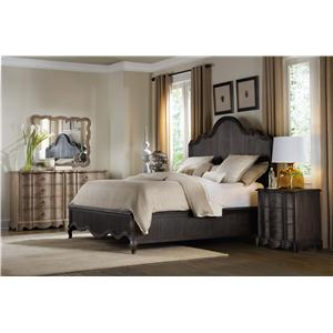 Hooker Furniture Corsica Queen Panel Bedroom Group
