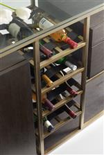 Smart Function - like Built In Wine Storage - Highlights Modern Convenience