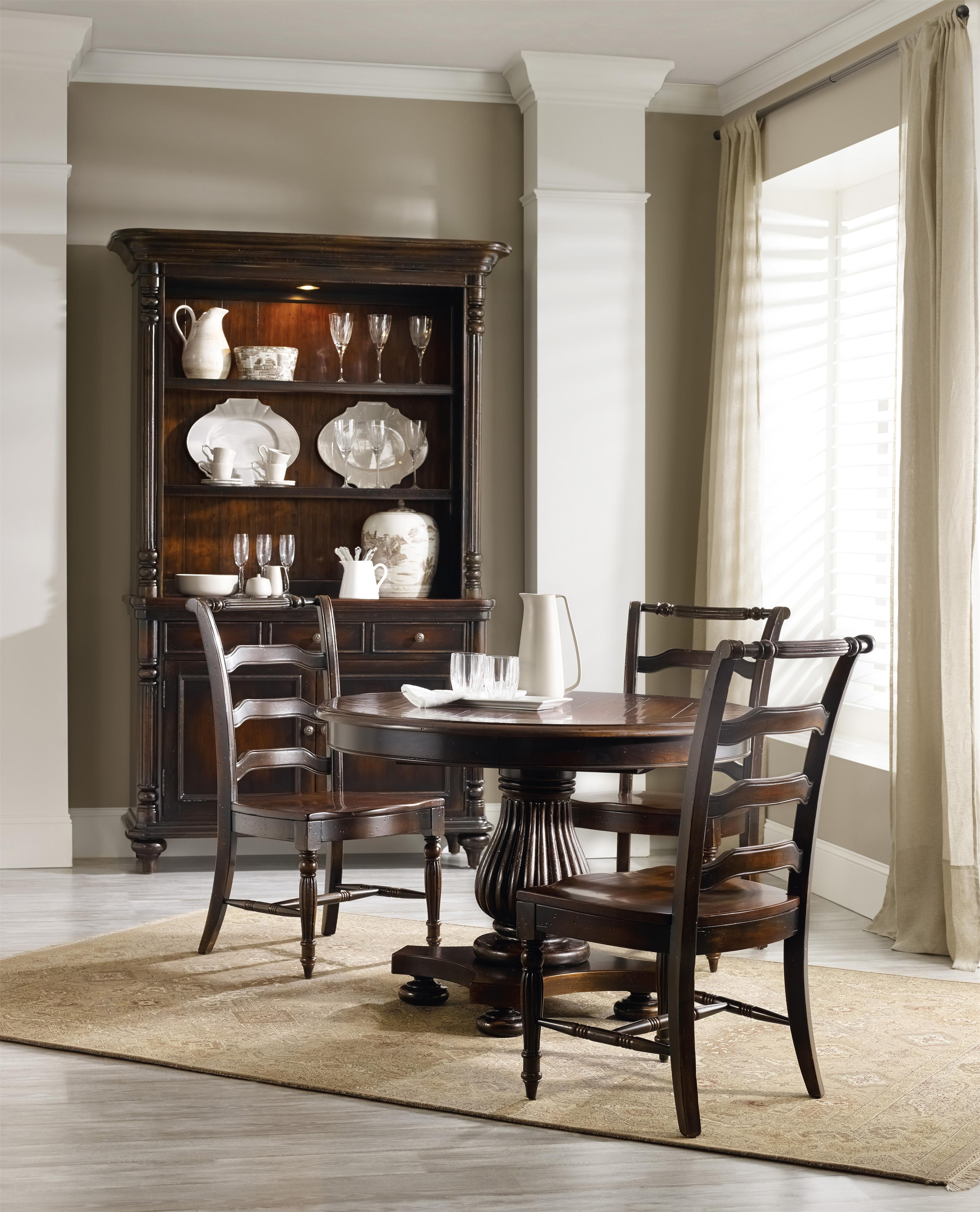 Hooker Furniture Eastridge Casual Dining Room Group - Item Number: 5177 Dining Group 4