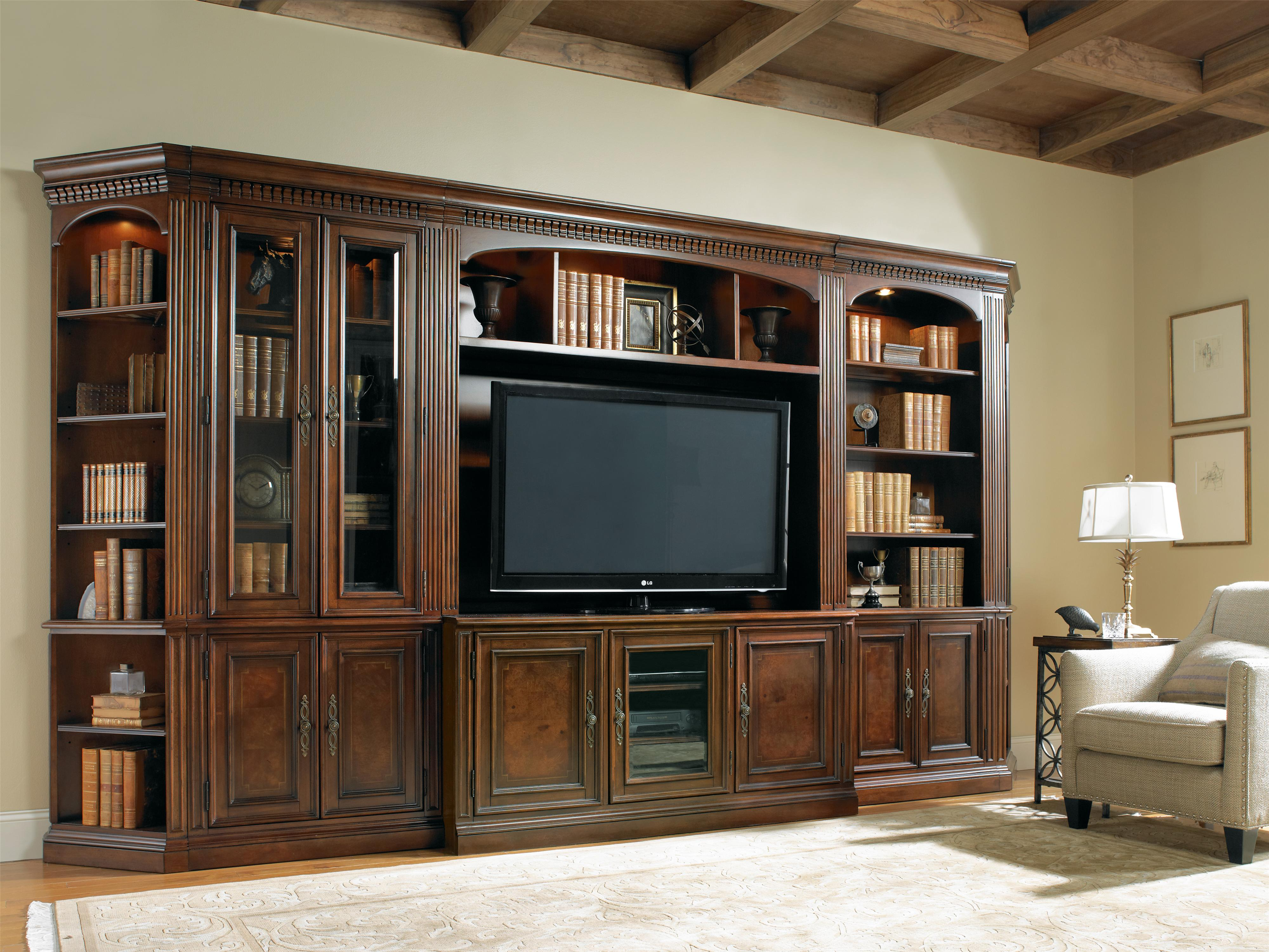 Hooker Furniture European Renaissance II fice Wall Unit with