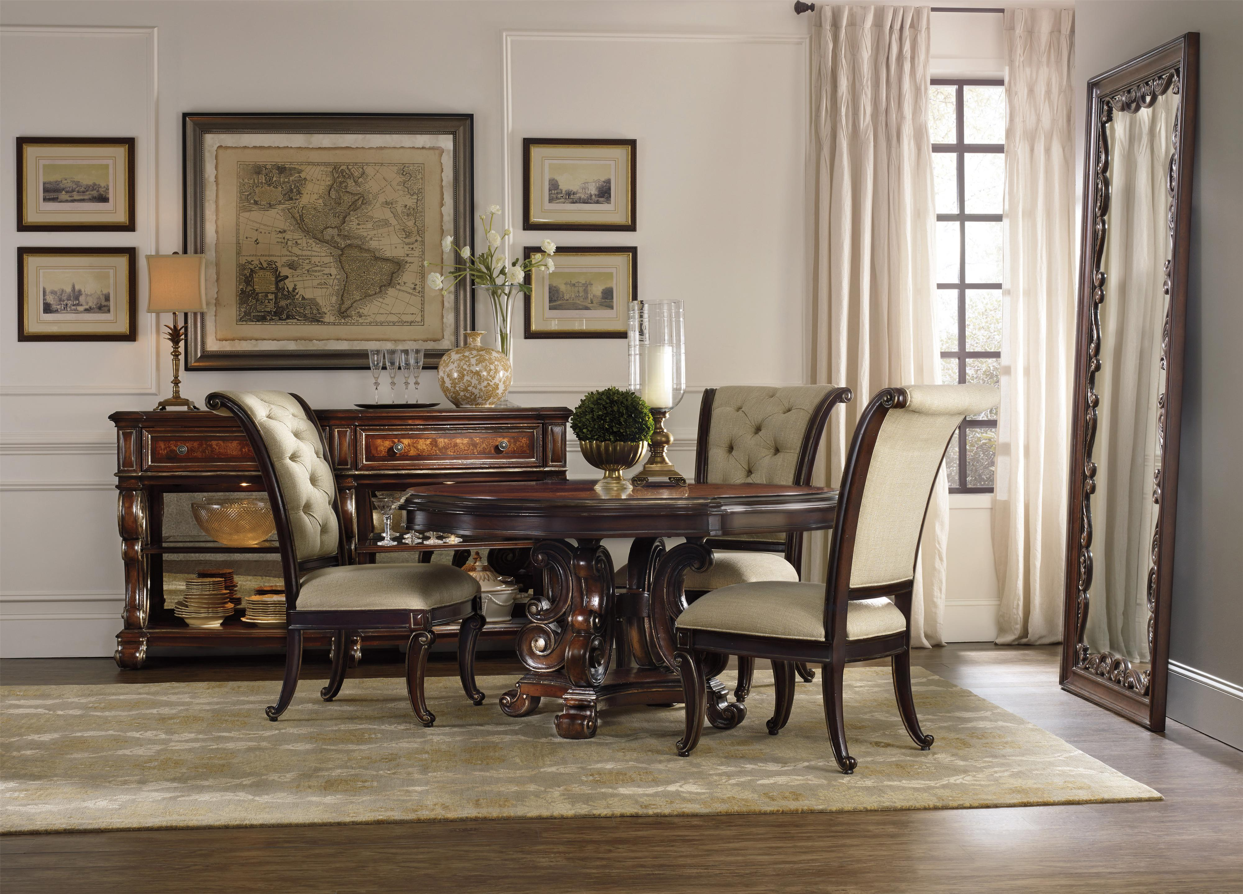 Hooker Furniture Grand Palais Tilt Swivel Chair With Tufted Back | Wayside  Furniture | Executive Desk Chair