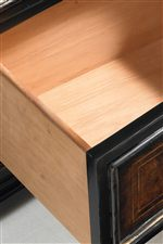 Cedar-Lined Bottom Drawers Provide Protection From Natural Elements and Impart a Fresh Aroma in Storage Units