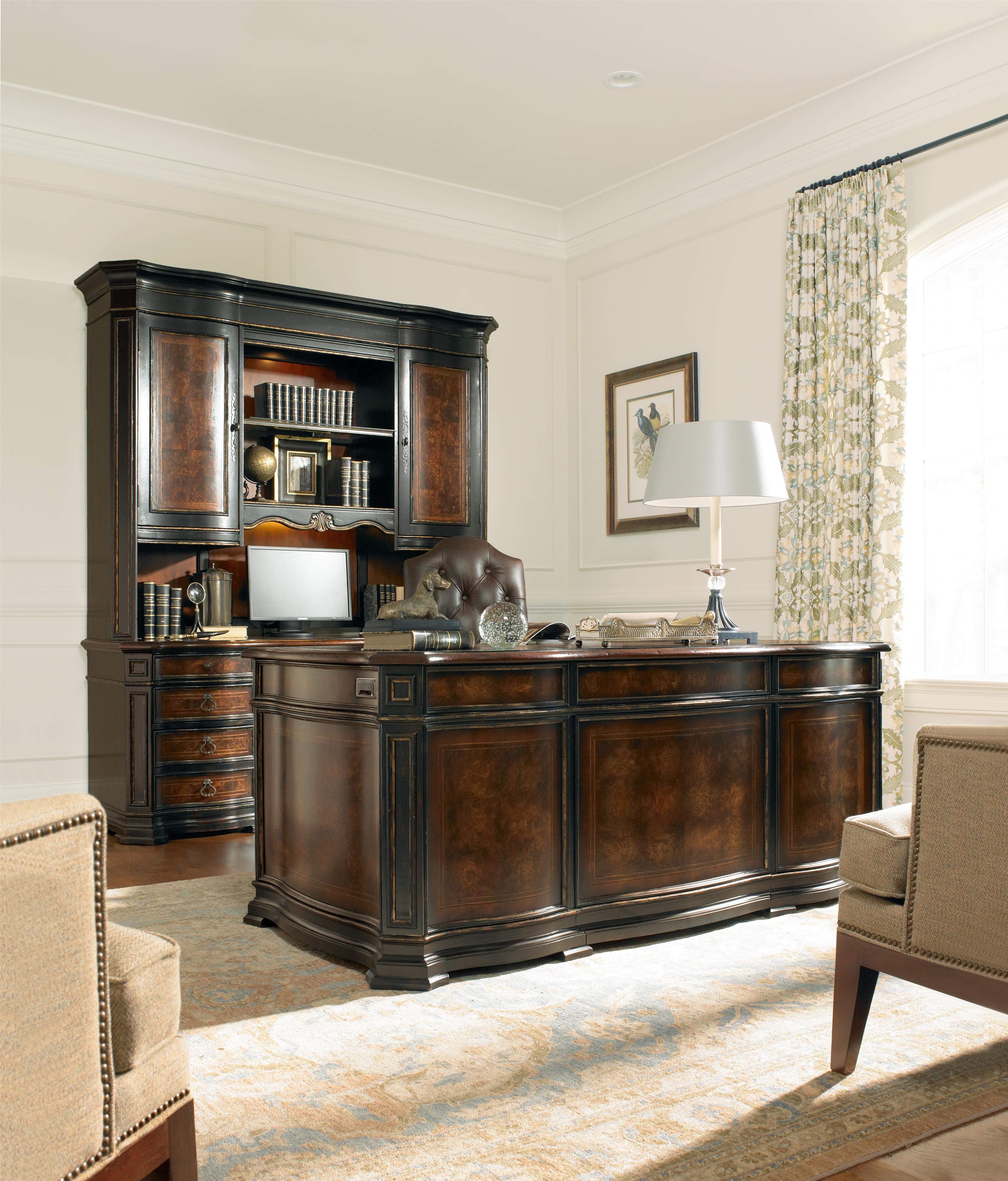desk hedwig executive products file double with multi desks by drawer st hooker pedestal furniture locking