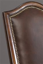 Nailhead Trim Adds a Touch of Drama