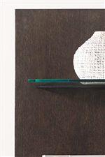 Glass Shelving Creates Beautiful Display