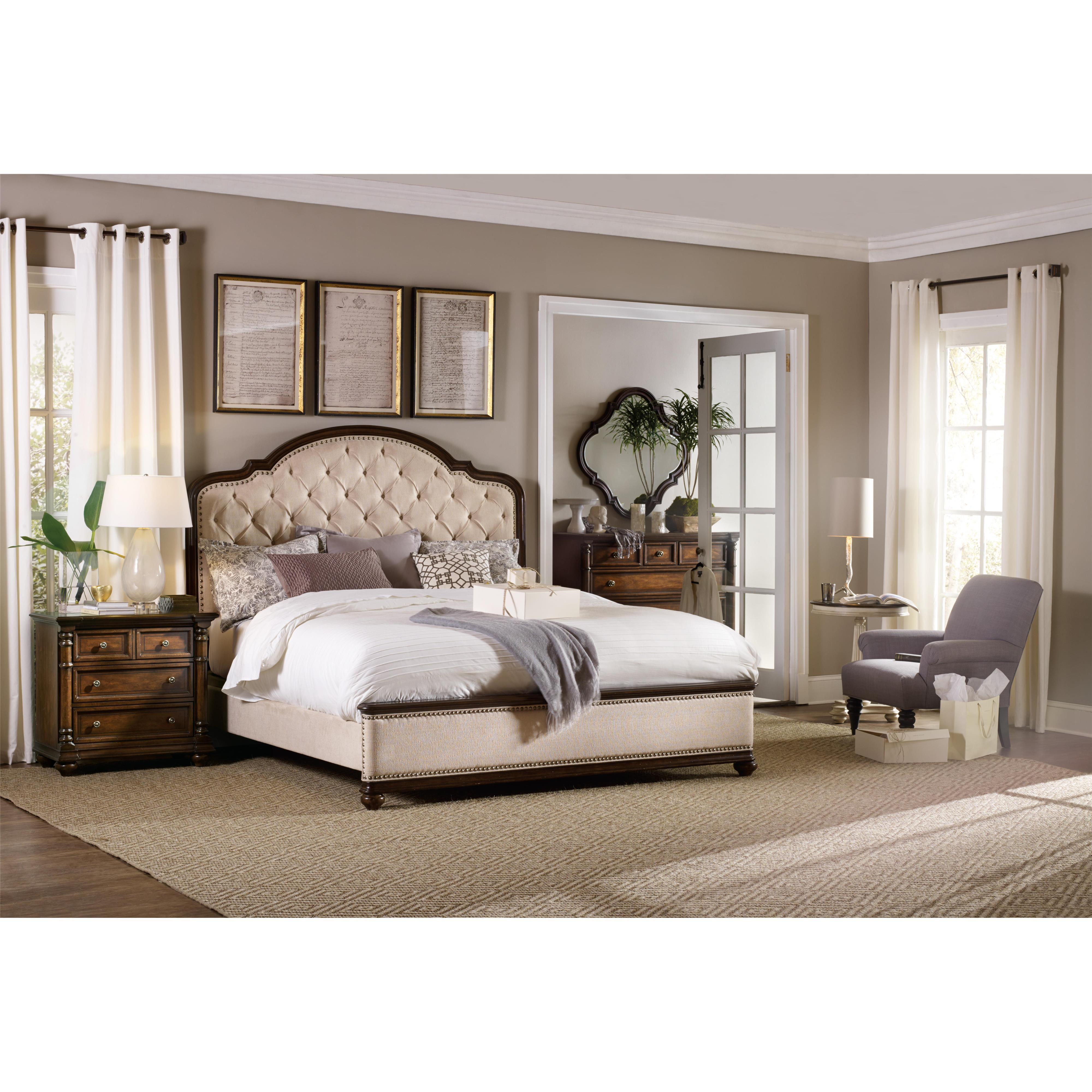 Ohio Bedroom Furniture Hooker Furniture Leesburg King Size Poster Bed With Mahogany