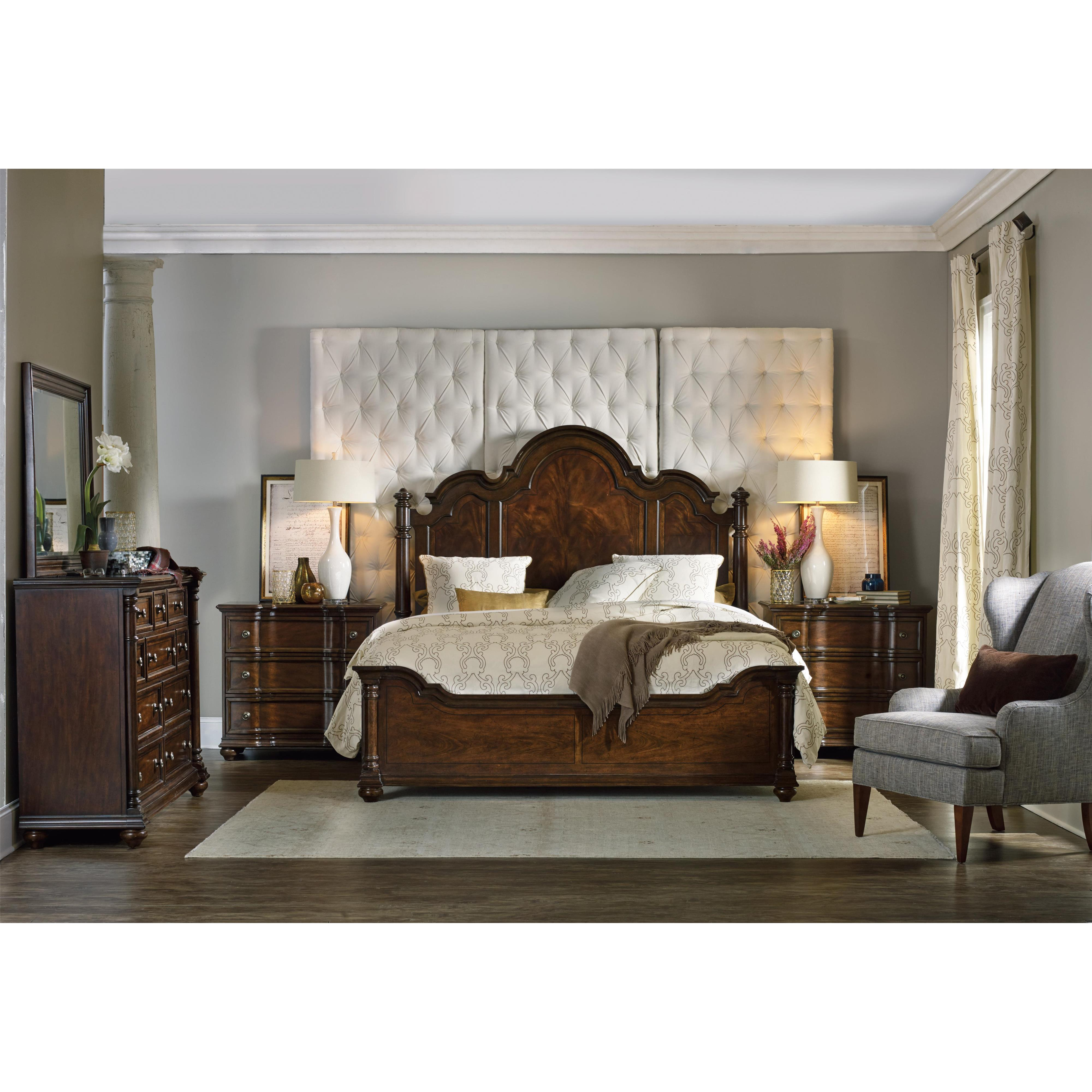 Hooker Furniture Leesburg King Bedroom Group - Item Number: 5381 K Bedroom Group 1