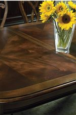 Beautiful Swirling Mahogany Veneers Create a Look that is Relaxed yet Rich with Detail