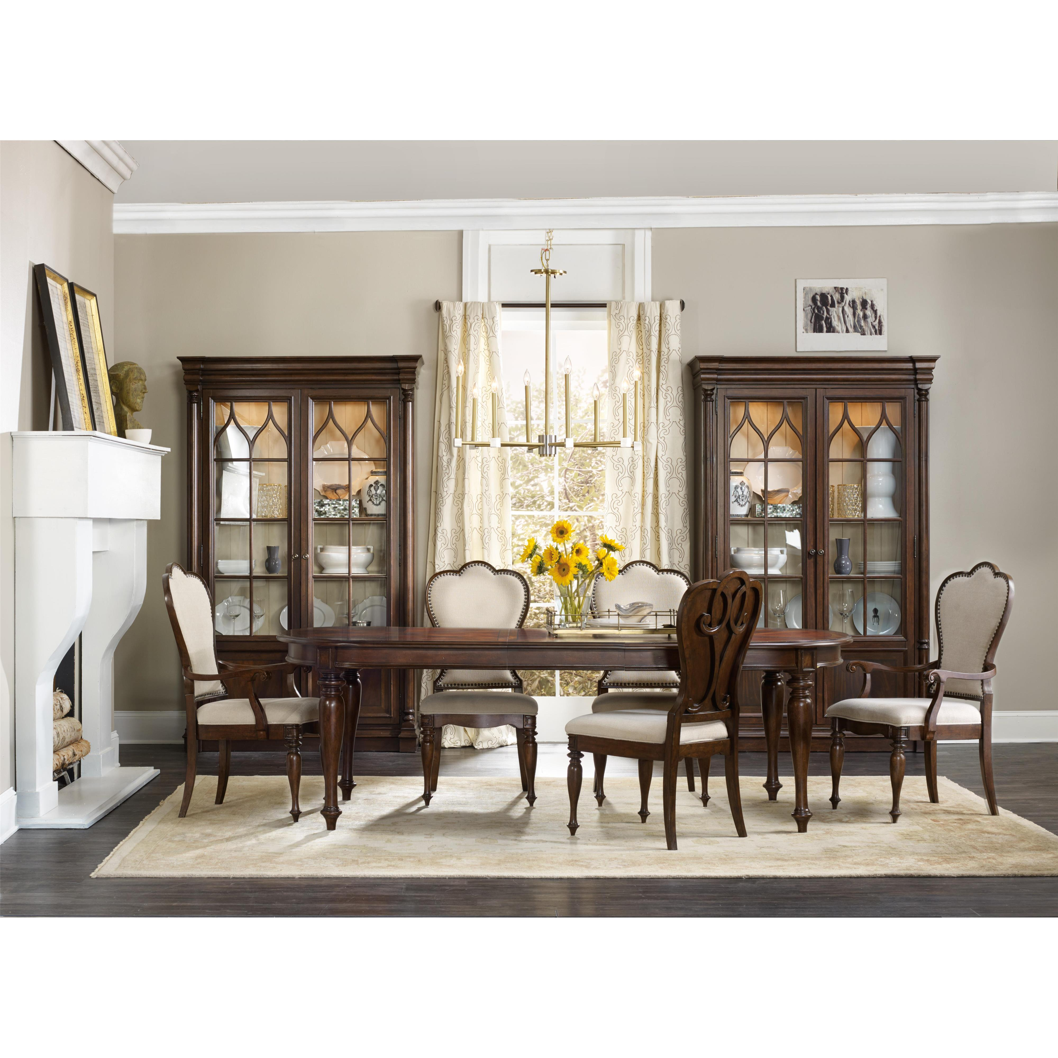 Hooker Furniture Leesburg Buffet With Silverware Tray Liner   Belfort  Furniture   Buffets