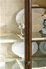Acting as a Contrast to the Mahogany Finish in its Collection, these Stunning Accent Pieces Quickly Catch Onlookers Eyes