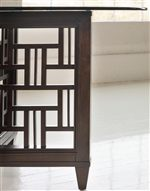 Fretwork Table Bases Add Visual Appeal